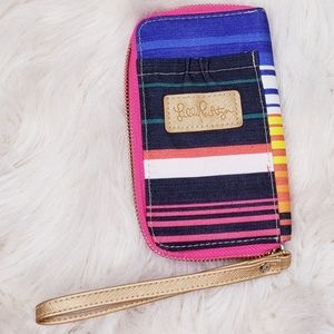 Lilly Pulitzer Wallet Wristlet Multi Color